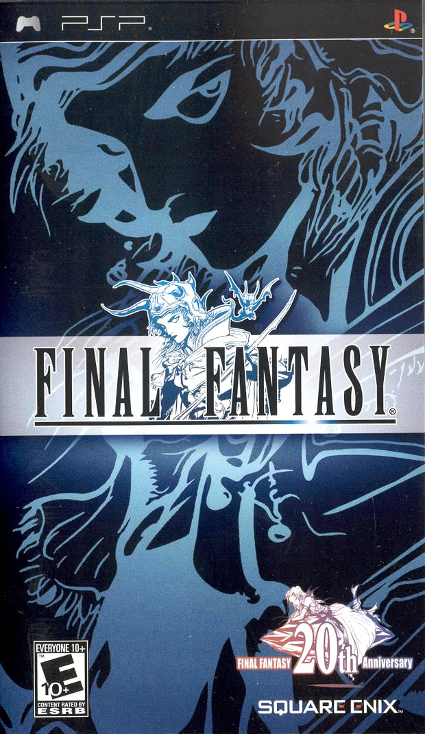 Primeiro Remake de FF para PSP. Bela capa =O